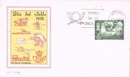 41626. Carta F.D.C. MADRID 1978. Dia Del Sello - FDC