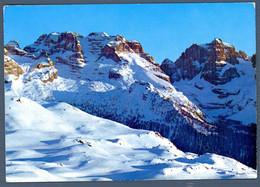 °°° Cartolina - Dolomiti Di Brenta Panorama Dallo Spinale Viaggiata (l) °°° - Trento