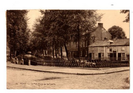 MONS - Le Pont Rouge Sur La Trouille - Envoyée En 1925 - - Mons