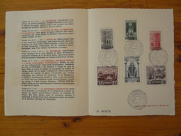 Encart Commémoratif Pentecote 1200 Ans Mort De St-Willibrord Medieval Luxembourg 1939 (ex 1) - Covers & Documents