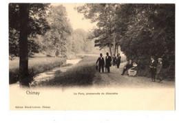 CHIMAY - Le Parc - Promenade Du Dimanche- Non Envoyée - édition : Ernult Lebrun - Précurseur - Chimay
