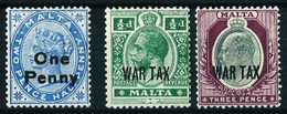 Malta (Británica) Nº 17-55/56 ... - Malta (...-1964)