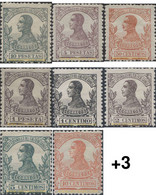 Ref. 654542 * HINGED * - SPANISH GUINEA. 1912. ALFONSOXIII . ALFONSO XIII - Guinée Espagnole