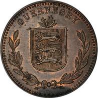 Monnaie, Guernsey, 8 Doubles, 1949, Heaton, Birmingham, TTB+, Bronze, KM:14 - Guernsey