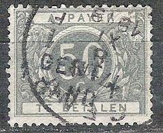 BELGIE Strafport TX 16A Naamstempel GENT GAND Afstempeling 1919   Cote € 100,00 - Briefmarken