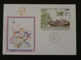 FDC Bloc Bicentenaire Revolution Francaise Révoltés Du Bounty Polynesie Philexfrance 1989 - FDC