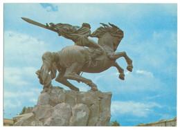 Armenia, Yerevan, Monument To David Of Sasun. USSR . Horseman 1977 - Armenia