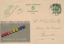 Publibel Nr. 249 - Colorbide British Made Coster - Charleroi 1937 - Werbepostkarten