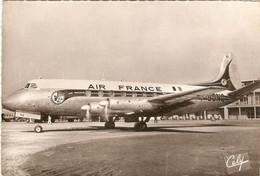 Carte Cely, Vickers 708 Viscout De La Cie Air France, éd. Pendaries 1699, écrite En 1961, F-BGNQ - 1946-....: Modern Era