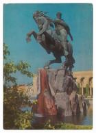 Armenia, Yerevan, Monument To David Of Sasun. USSR . Horseman 1971 - Armenia