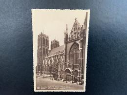 Brussel Stad - Eglise Saint-Gudule - Sint Gudula Kerk - Zijgevel - Bruxelles (Città)