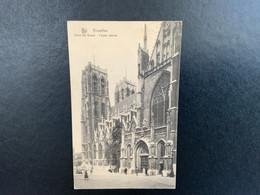 Brussel Stad - Eglise Saint-Gudule - Sint Gudula Kerk - Façade Latérale - Bruxelles (Città)