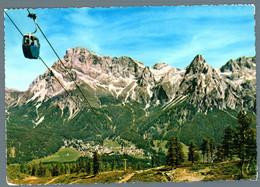 °°° Cartolina - Dolomiti S. Martino Di Castrozza Funivia Del Toniola E Cimone Viaggiata (l) °°° - Trento