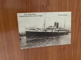 Paquebot Duc D'aumale - Courrier D'Algérie - Passagiersschepen