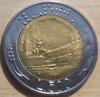 ITALIA REPUBBLICA LIRE 500  ANNO 1982 - 500 Lire