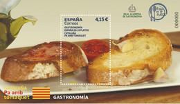 España. Spain. 2021. HB. Gastronomía. Cataluña. Pa Amb Tomàquet - 2011-... Nuovi & Linguelle