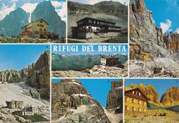 (QU464) - I RIFUGI DEL BRENTA (Trento) - Multivedute - Trento