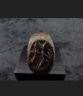 "Roman Ring Of The Goddess ""Ceres"" (100AD). Bague Romaine - Bronzi"