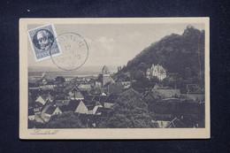 ALLEMAGNE / BAVIERE / WEIMAR - Affranchissement Surchargé De Landstuhl Sur Carte Postale En 1919 - L 106288 - Briefe U. Dokumente