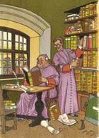 Illustrateur Harry Eliott Moines Dans Une Bibliotheque Souris  RV Barré & Datez 1171 C - Humour