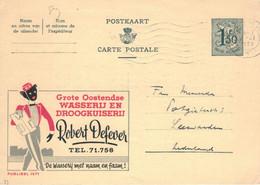 Publibel Nr. 1571 - Robert Defever Hemden RD Hemden Schwarzer Mann 1959 - Werbepostkarten
