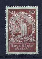 Deutsches Reich 354 * - Unused Stamps