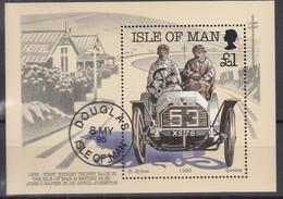 ISLE OF MAN  Block 23, Gestempelt, 90 Jahre Tourist-Trophy-Automobilrennen, 1995 - Man (Ile De)