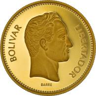 Monnaie, Venezuela, 10000 Bolivares, 1987, Caracas, FDC, Or, KM:61 - Venezuela