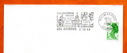 974 LES AVIRONS  REUNION     1988 Lettre Entière N° UV 996 - Annullamenti Meccanici (pubblicitari)