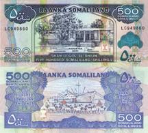 SOMALIA SOMALILAND 500 Shillings 2011 P 6 H UNC - Somalia