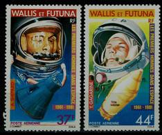 WALLIS AND FUTUNA 1981 SPACE MI No 386-7 MNH VF!! - Oceania