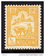 INDOCHINE - N° 124** - LABOUREUR ET TOUR DE CONFUCIUS - Unused Stamps