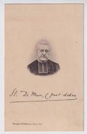 PASTOOR ZELZATE EN DEINZE ZUSTERS MARICOLEN - FLORENT DE MOOR  OUDENAARDE1833  DEINZE 1905    2 SCANS - Obituary Notices