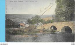 VRESSE ..-- Nels 40 , N° 327 Couleur .  Pont . 1906 Vers WALHAIN - SAINT - PAUL ( Melle Hél. DERYCKE ) . Voir Verso . - Vresse-sur-Semois