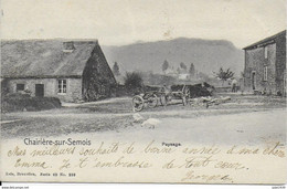 CHAIRIERE ..-- Nels 40 , N° 259 . 1906 Vers LEDEBERG ( Mme Emma VAN HULLE ) . Voir Verso . - Vresse-sur-Semois