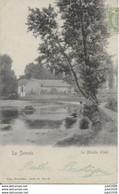 IZEL ..-- Nels 40 , N° 62 . MOULIN . 1908 Vers PARIS . Voir Verso . Peu Commune !! - Chiny
