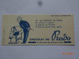BUVARD BLOTTING PAPER CHOCOLAT DU PRADO CHOCOLAT DE GRANDE CLASSE - Cocoa & Chocolat
