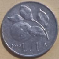 ITALIA REPUBBLICA 1 LIRA 1948 - 1 Lira