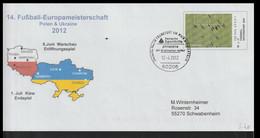 Germany Postal Stationary Fussball Spitzensport 2012 UEFA European Championship Poland/Ukraine - Posted - Fußball-Europameisterschaft (UEFA)