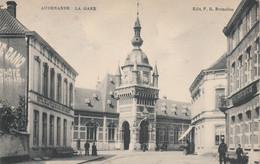 Oudenaarde Audenarde La Gare - Edit: F.B. Bruxelles - Geanimeerd - Oudenaarde