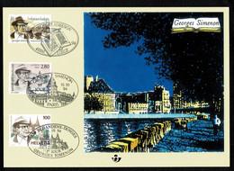Belg. 1994 - 2579HK 2579 België/Frankrijk/Zwitserland - Belgique/France/Suisse - Erinnerungskarten