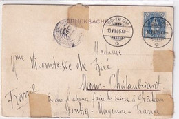 25 Rp Stehende Helvetia Auf Signierter Ansichtskarte Vom Rigi - 1905       (P-355-10605) - Covers & Documents