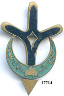 17714 .SAHARA . Cie SAHARIENNE ZOUSFANA - Armée De Terre