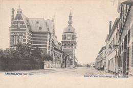 Oudenaarde Audenaerde La Gare Uitg. C.Van Cortenbergh Fils Bruxelles - Geanimeerd - Oudenaarde