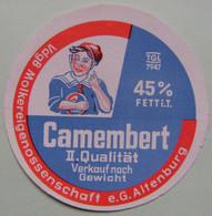 Etiquette Petit Camembert - Le Garçonnet - Fromagerie E.G.d'Altenburg Export - Allemagne   A Voir ! - Cheese
