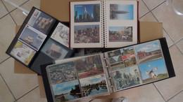 W191 Carton 21 Kgs De Cartes Postales Et Quelques Courriers.. Voir Commentaires + Photos !!! - Kilowaar (min. 1000 Zegels)