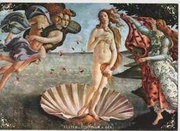 Fre465 Freecard Promocard Promozionale Auster Vino Wine Bar Arte Nascita Venere Botticelli Venus - Hotels & Restaurants
