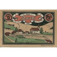 Billet, Autriche, Sandl, 50 Heller, Eglise, 1920, 1920-12-31, SPL, Mehl:FS 874I - Austria