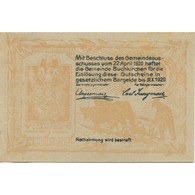 Billet, Autriche, Buchkirchen, 50 Heller, Château 1920-10-31, SPL Mehl:FS 114a - Austria