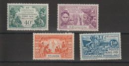 Réunion 1931 Expo Paris 119-122 4 Val ** MNH - Nuovi